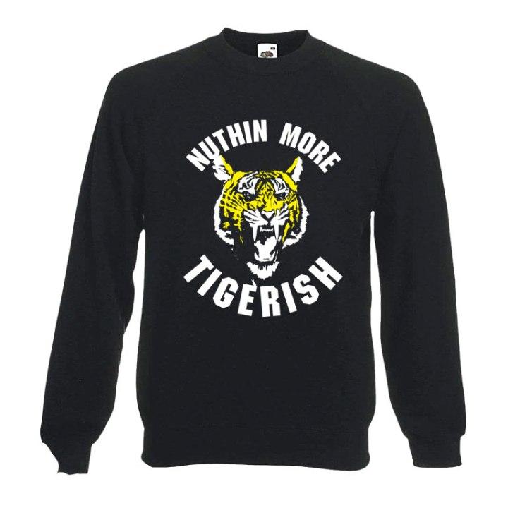 tigerish football sweatshirt