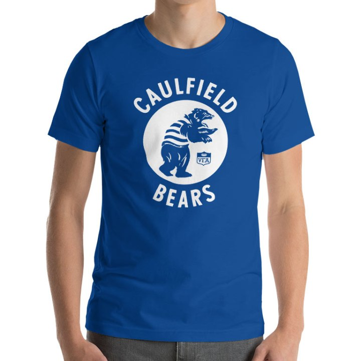 caulfield bears vfa shirt