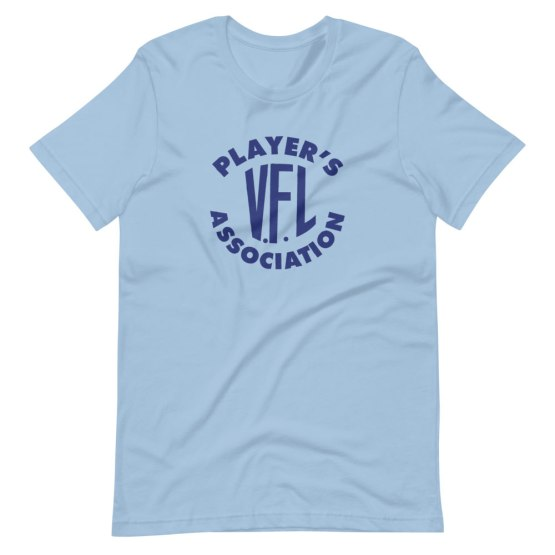 vfl players association shirt