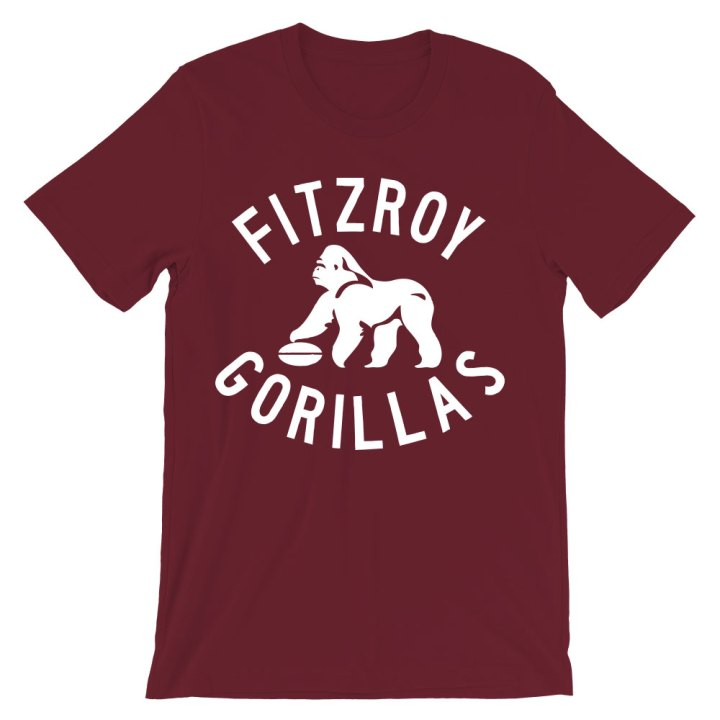fitzroy gorillas footy shirt