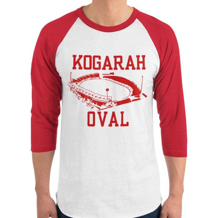 kogarah oval retro jersey shirt