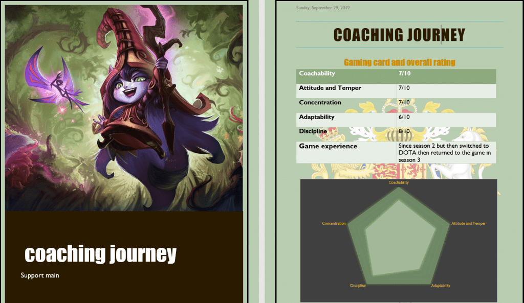 League of Legends coaching
