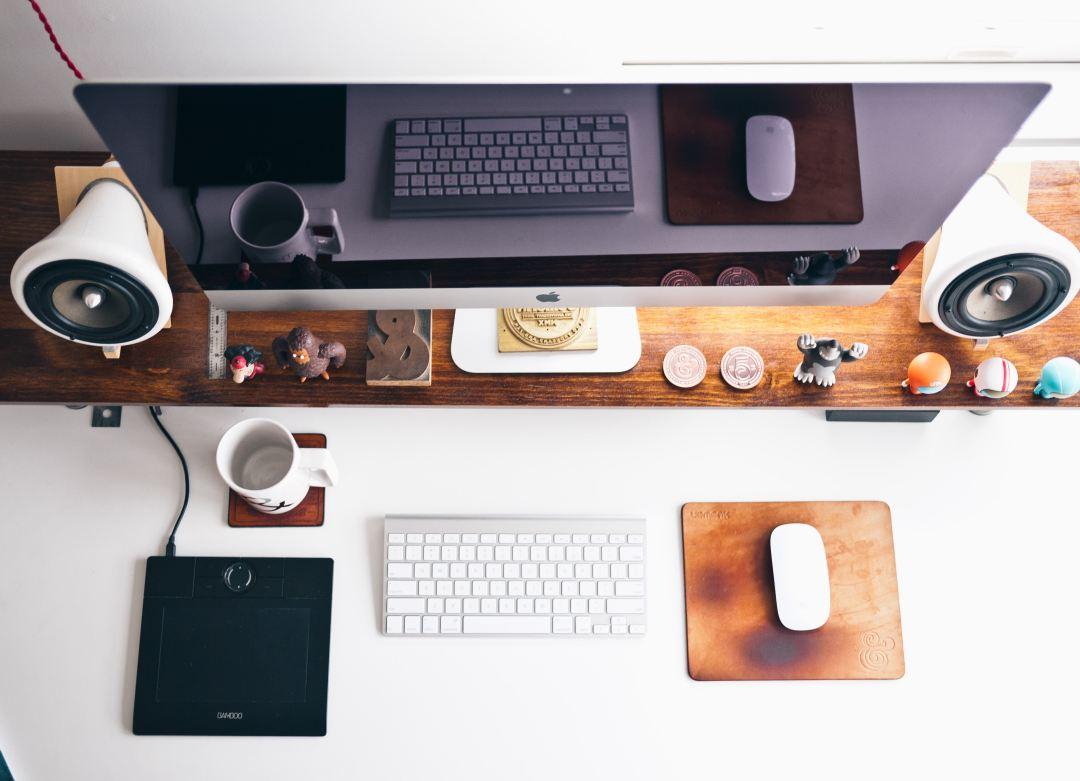 entrepreneur desk