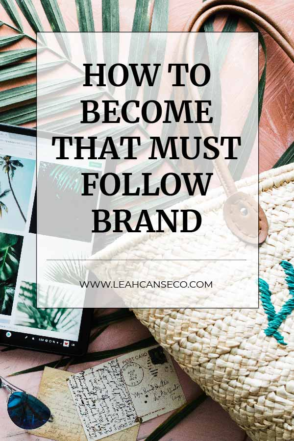 Learn how to become that must follow brand that influences everyone. #branding #brand #onlinemarketing #influencer