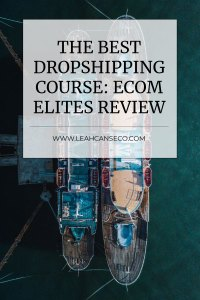 best dropshipping course