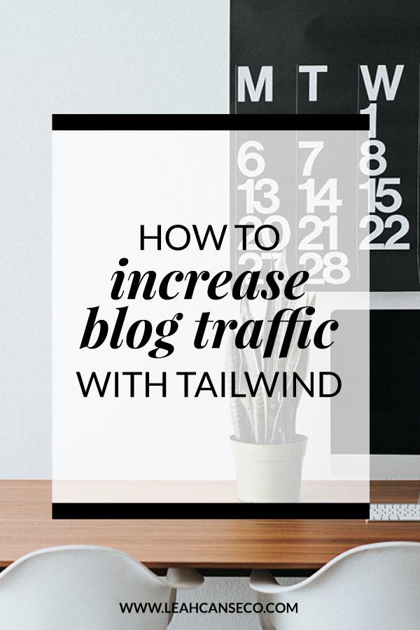 increase blog traffic tailwind