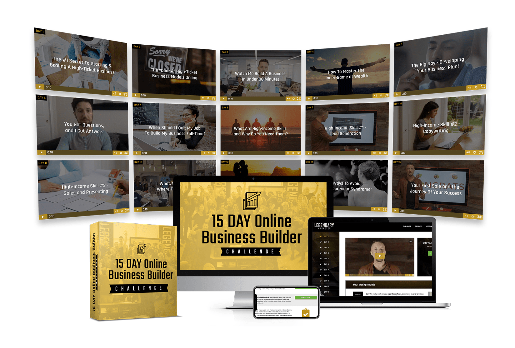 Box Images Legendary Marketer  Internet Marketing Program