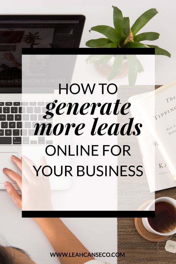 How to generate more business leads