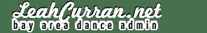 Leah Curran: Bay Area Dance Admin