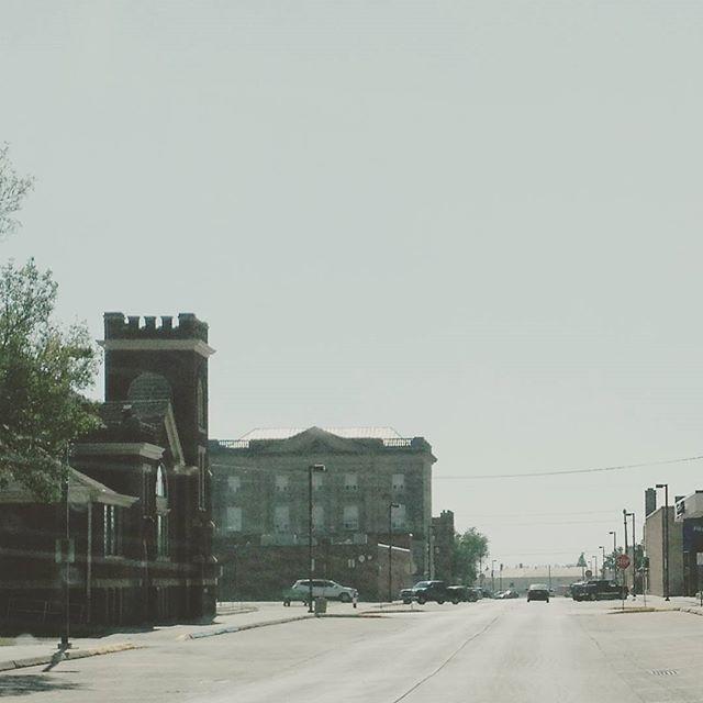 Downtown.  #devilslakenorthdakota