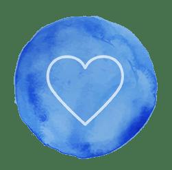 heart button | leahdecesare.com