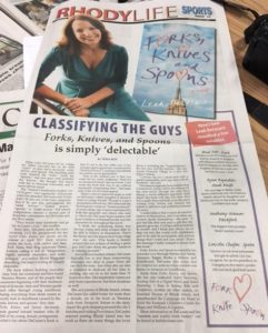 Warwick Beacon, Cranston Herald, Johnston Sun Rise #forkbook | leahdecesare.com