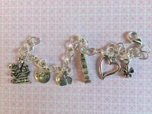 Charm Bracelet inspired by #forkbook | leahdecesare.com