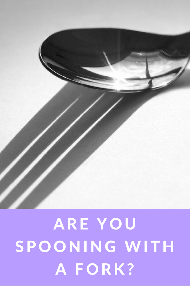 Are you spooning with a fork? | leahdecesare.com