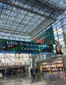 Celeste Ng Banner at Book Expo | leahdecesare.com