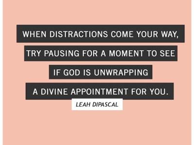 Divine Distractions