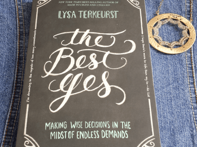 The Best Yes {Giveaway}
