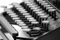 Photo Vintage Typewriter 2 by David Ashe