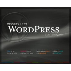 Book cover Digging into WordPress