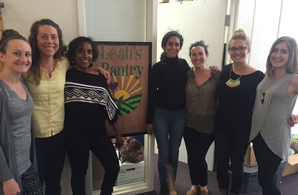 Reflections from Sarah Carrillo, Leah's Pantry Intern and San Francisco State Health Education (almost) Graduate