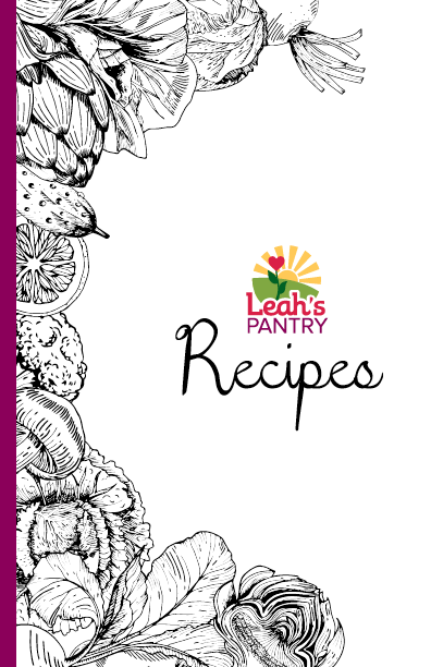 Recipe Booklet Cover