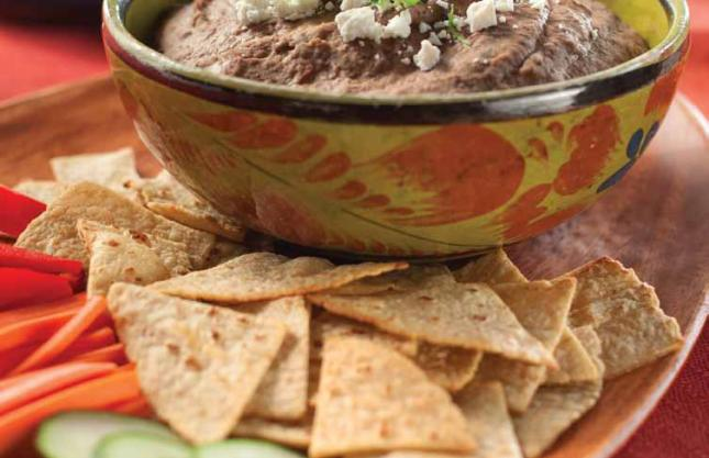 Wold Series Food- Jalepeño Black Bean Dip
