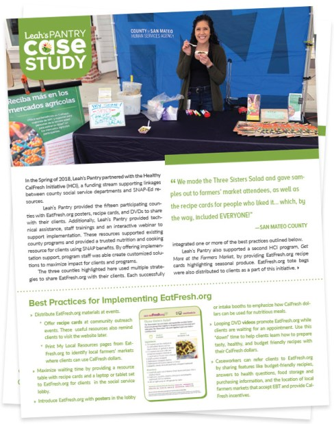 Click to view a case study with Best Practices for Implementing EatFresh.org