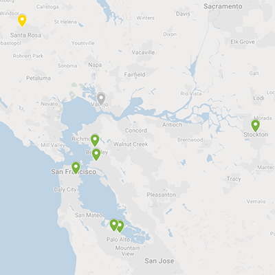 NPP 2019 Map - Northern California