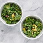 Detoxifying Kale Salad - Detoxifying Vegan Kale Salad