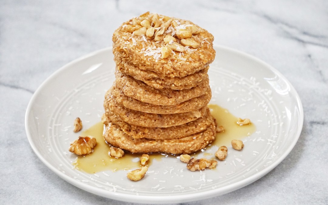 Apple Oatmeal Pancakes