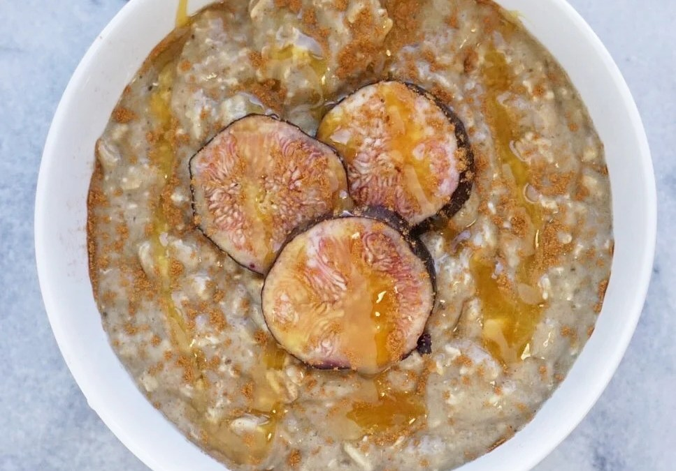 Vanilla & Fig Infused Overnight Oats
