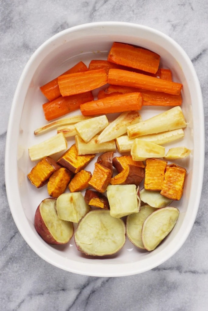 Roasted Root Veggies. 684x1024 - Roasted Root Veggies - the Perfect Thanksgiving Side