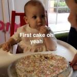Healthy Smash Cake (Allergen-Free)