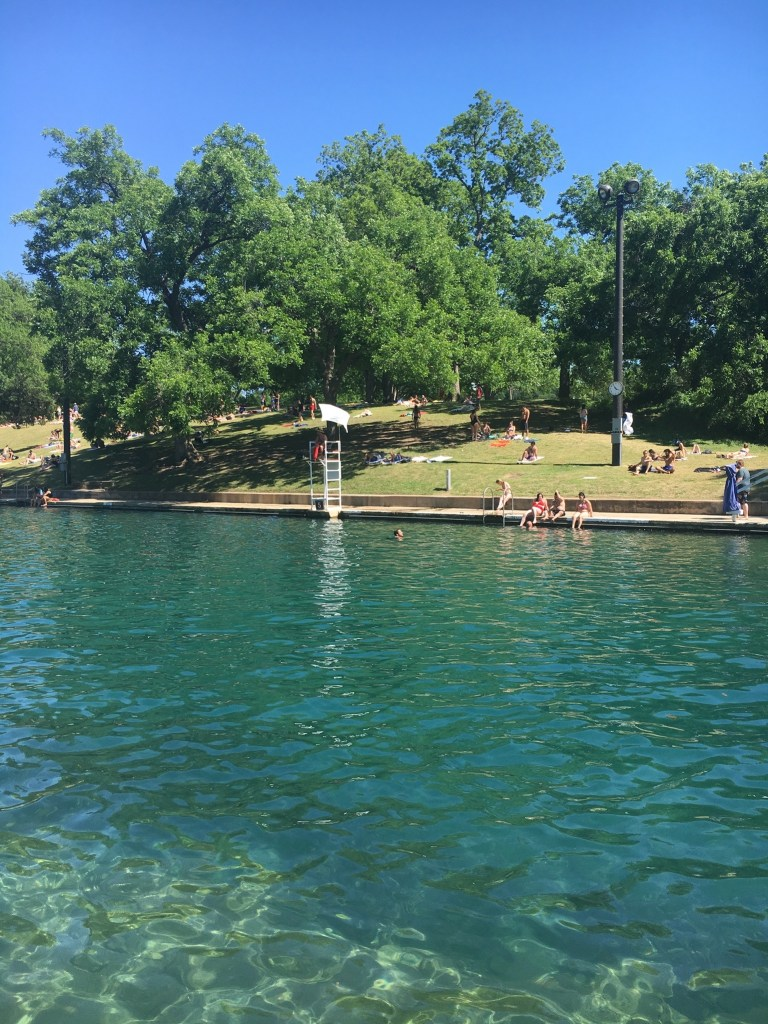 barton springs 768x1024 - Healthy Weekend in Austin: Recap