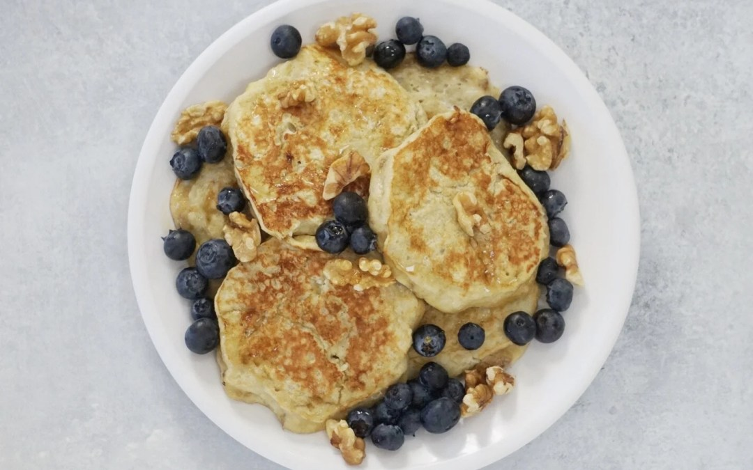 3 Ingredient Paleo Banana Pancakes
