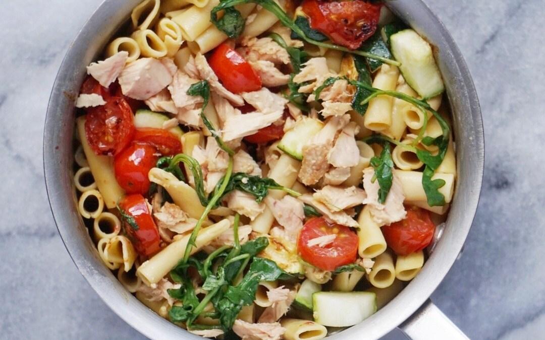 Tuna and Veggie Pasta