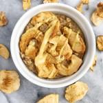 Apple Pie Baked Oatmeal (Vegan & Gluten-Free)