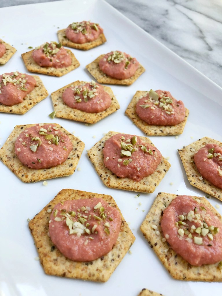 Beet Hummus 6 768x1024 - The Perfect Roasted Beet Hummus Appetizer for your Fall Gatherings