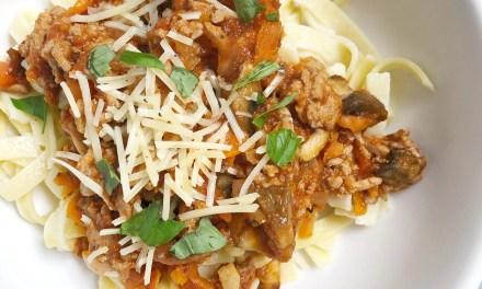 Healthy Bolognese - Recipes