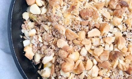 macadamia apple crisp2 - Recipes