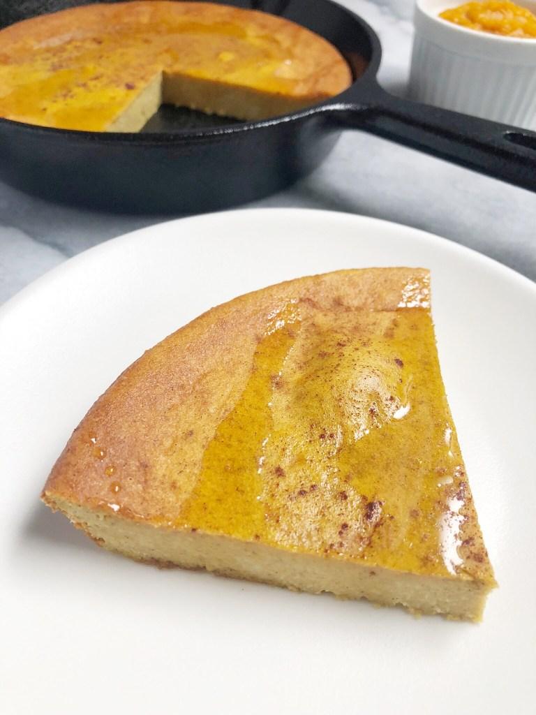 Paleo Pumpkin Pie Dutch Baby