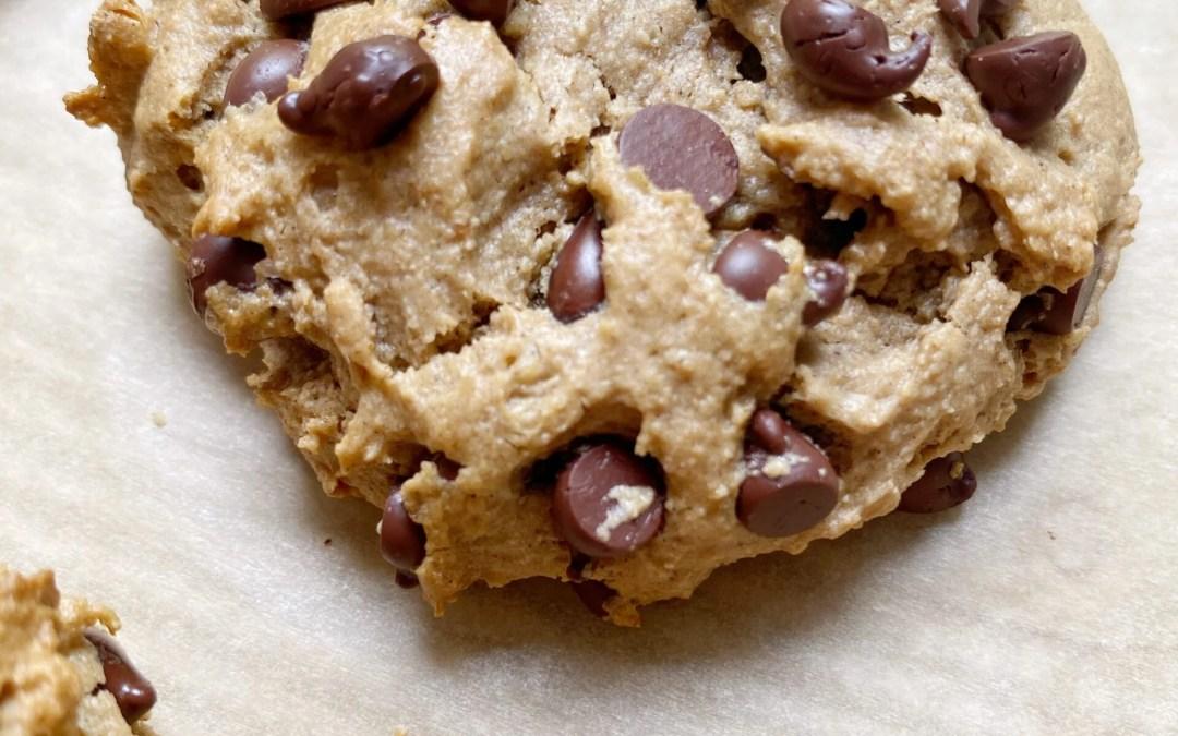 Vegan + Gluten-Free Chocolate Chip Cookies