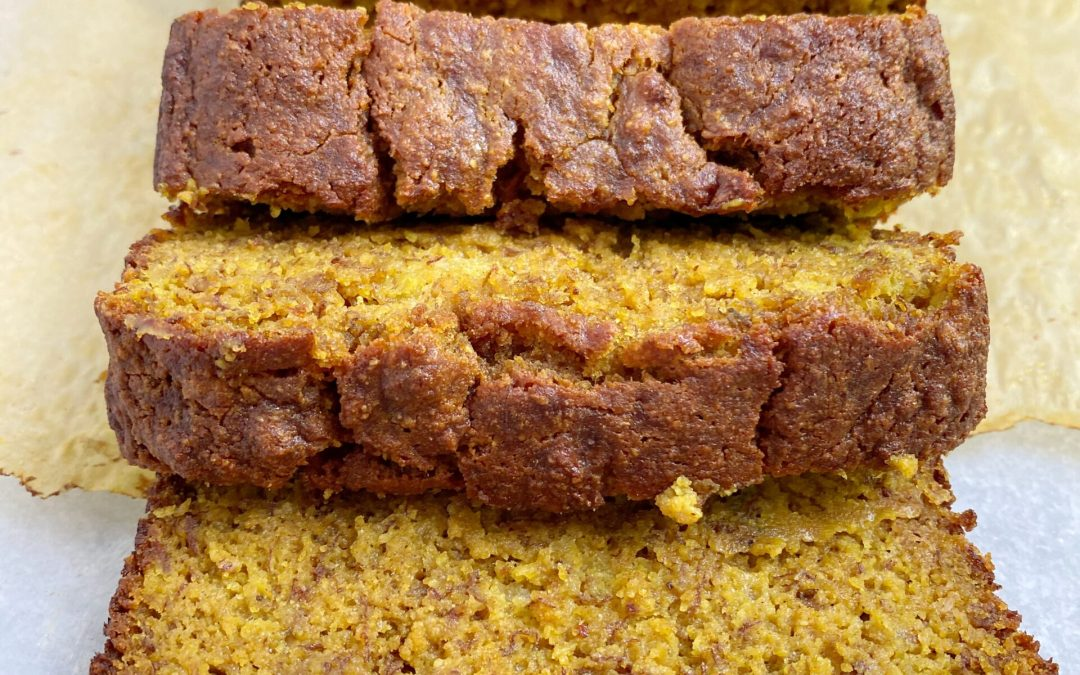 Golden Mylk Paleo Banana Bread