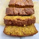 gold4 scaled - Golden Mylk Paleo Banana Bread