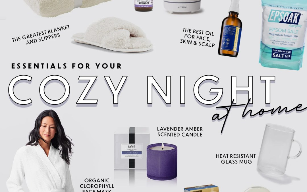 Everything you need for a 'wellness-ey' cozy night in