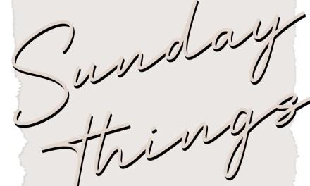 Sunday Things - Lifestyle Index
