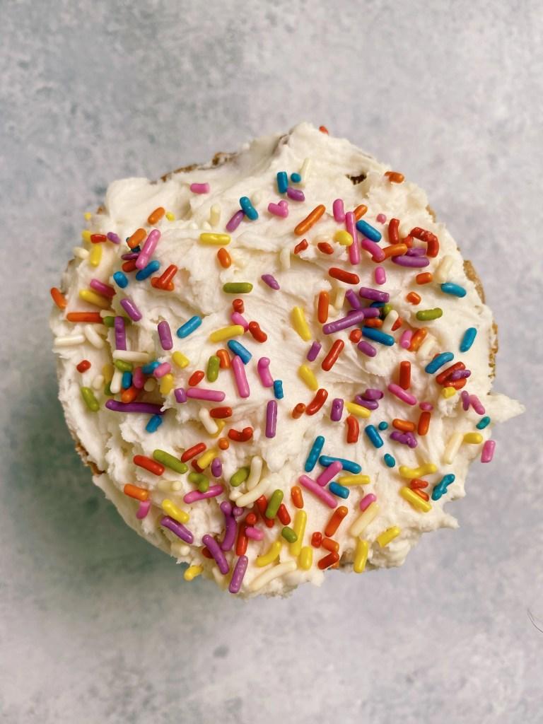 smash cake1 768x1024 - Healthy Smash Cake for Baby (dairy-free, gluten-free & egg-free)