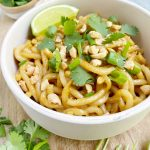 annie chuns2 scaled - Spicy Peanut Butter Stir-Fry Noodles (Vegan)