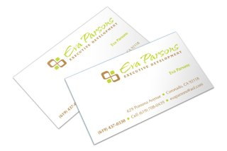 Eva Parsons business cards