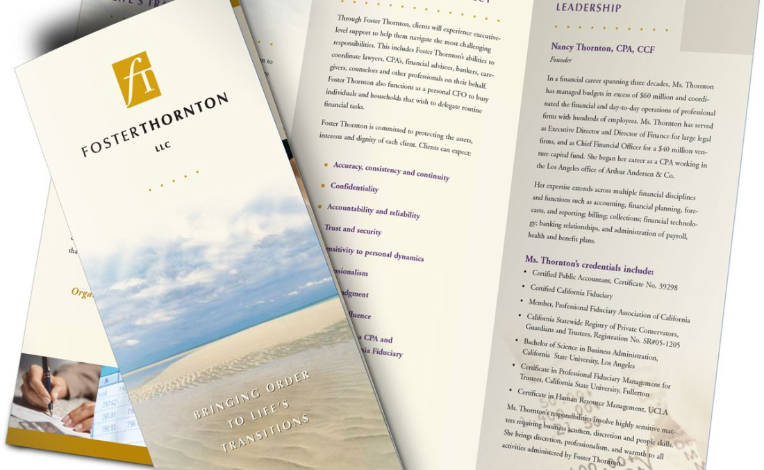 Foster Thornton brochure